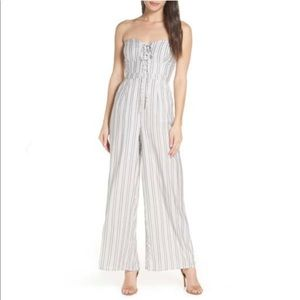 Ali & Jay strapless jumpsuit